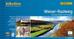 Bikeline Weser-Radweg | fietsgids 9783850007771  Esterbauer Bikeline  Fietsgidsen Bremen, Osnabrück, Emsland, Hannover, Weserbergland