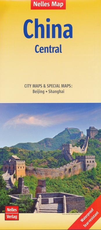 China 03  East-Central China 1:1.500.000 9783865740953  Nelles Nelles Maps  Landkaarten en wegenkaarten China (Tibet: zie Himalaya)