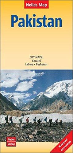 Pakistan | wegenkaart - overzichtskaart 1:1.500.000 9783865744425  Nelles Nelles Maps  Landkaarten en wegenkaarten Pakistan