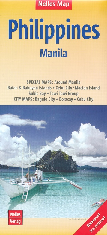 Philippines   wegenkaart - overzichtskaart 1:1.500.000 9783865744449  Nelles Nelles Maps  Landkaarten en wegenkaarten Filippijnen