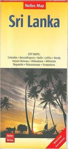 Sri Lanka | wegenkaart - overzichtskaart 1:500.000 9783865745118  Nelles Nelles Maps  Landkaarten en wegenkaarten Sri Lanka