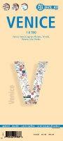 Venetië, stadsplattegrond Berndtson 9783866093683  Berndtson / Borch   Stadsplattegronden Zuidtirol, Dolomieten, Friuli, Venetië, Emilia-Romagna