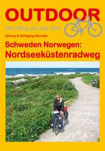 Nordseeküstenradweg 9783866864092 Barelds, Idhuna & Wolfgang Conrad Stein Verlag Outdoor - Der Weg ist das Ziel  Fietsgidsen, Meerdaagse fietsvakanties Noorwegen, Zuid-Zweden