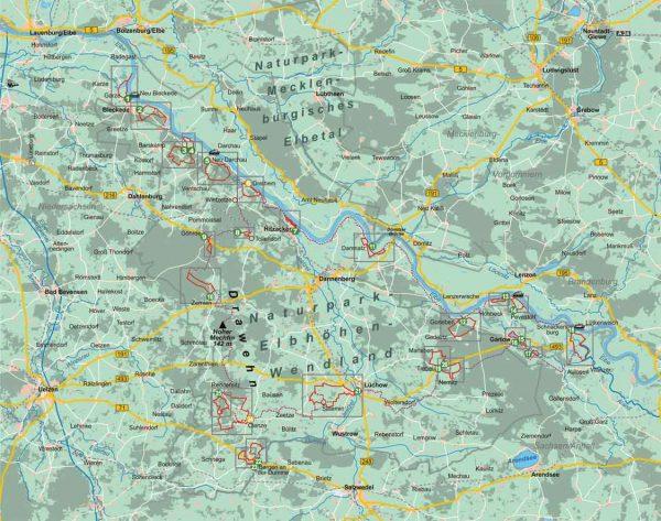 Wendland, 25 Wanderungen   wandelgids (Duitstalig) 9783866864474  Conrad Stein Verlag Outdoor - Der Weg ist das Ziel  Wandelgidsen Lüneburger Heide, Elbufer