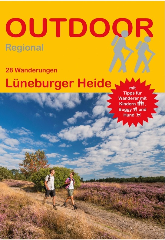 Lüneburger Heide   wandelgids (Duitstalig) 9783866865532  Conrad Stein Verlag Outdoor - Der Weg ist das Ziel  Wandelgidsen Lüneburger Heide, Elbufer