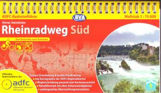 ADFC-Radreiseführer Rheinradweg (3) Süd 9783870735876  ADFC   Fietsgidsen, Meerdaagse fietsvakanties Duitsland