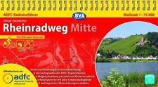ADFC-Radreiseführer Rheinradweg (2) Mitte 9783870735883  ADFC   Fietsgidsen, Meerdaagse fietsvakanties Duitsland