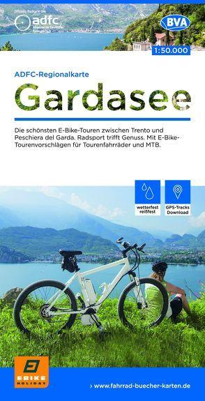 ADFC-Regionalkarte Gardasee 1:50.000 9783870738594  ADFC / BVA   Fietskaarten Zuidtirol, Dolomieten, Friuli, Venetië, Emilia-Romagna