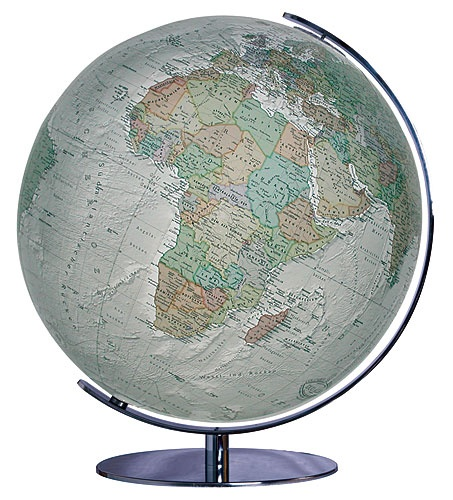 233481 Duo Alba Globe 9783871290879  Columbus Globes / Wereldbollen  Globes Wereld als geheel