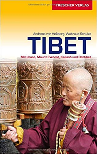 Tibet Reiseführer (reisgids) 9783897943483  Trescher Verlag   Reisgidsen Tibet