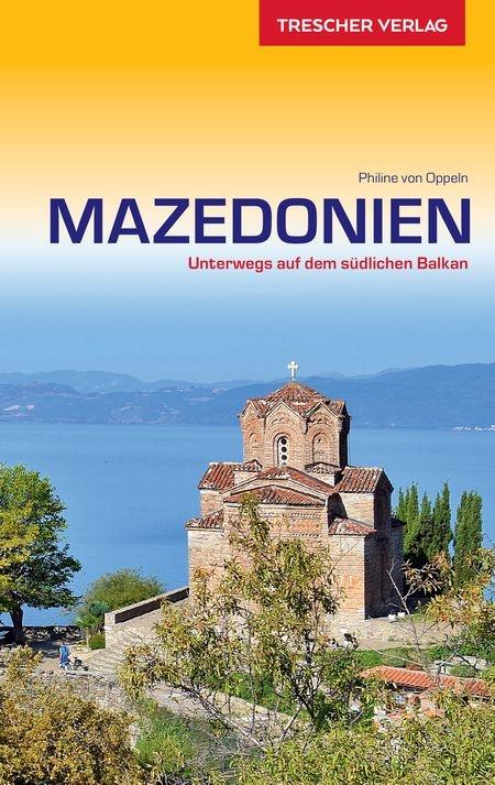 Mazedonien (Macedonië) | reisgids 9783897944329  Trescher Verlag   Reisgidsen Servië, Bosnië-Hercegovina, Macedonië, Kosovo, Montenegro