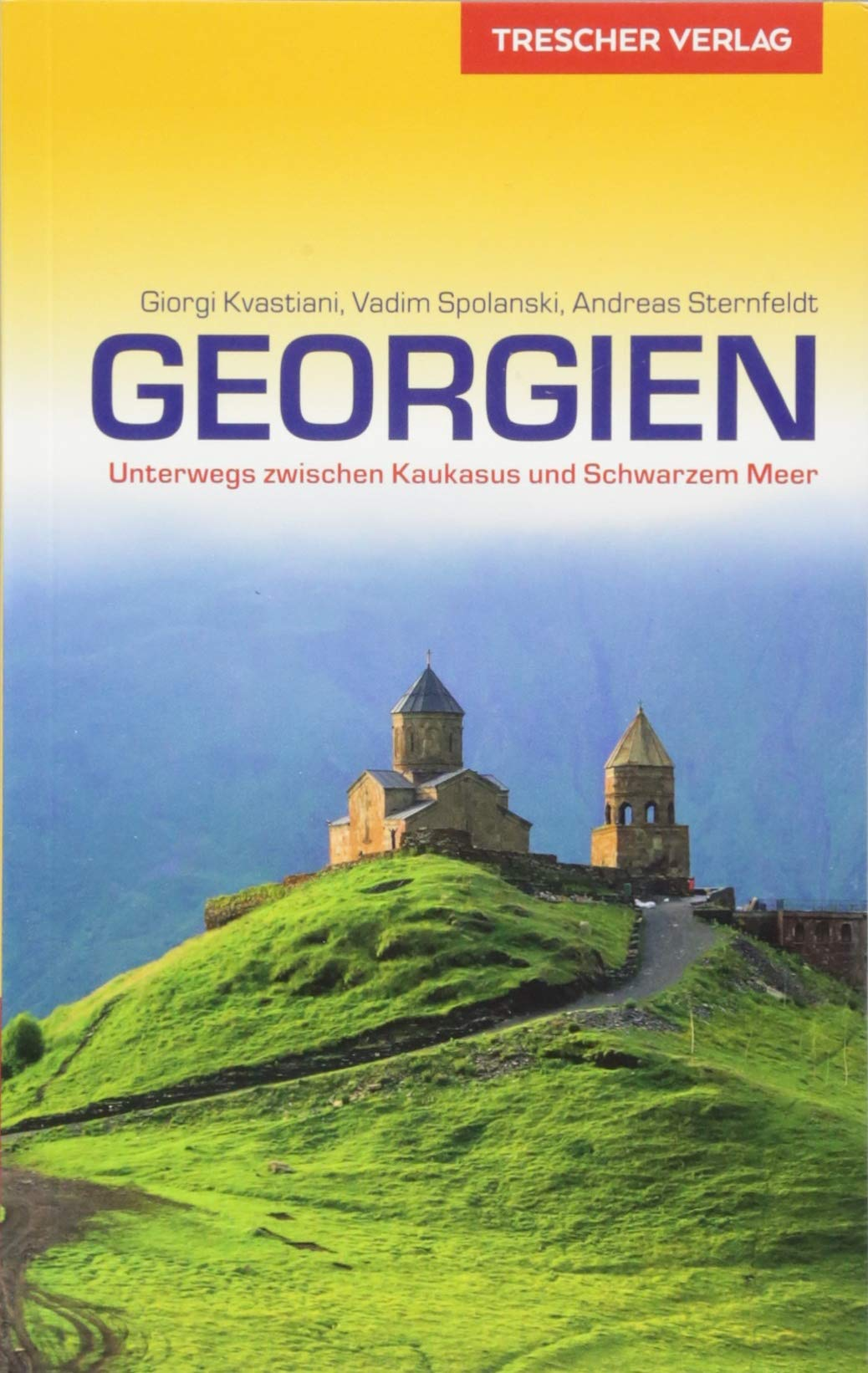 Georgien   reisgids 9783897944664  Trescher Verlag   Reisgidsen Georgië