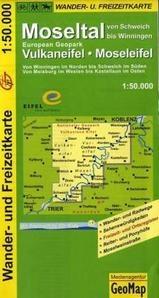 Moseltal, Vulkaneifel, Moseleifel 1:50.000 9783933671165  GeoMap Wandelkaarten Eifel  Wandelkaarten Moezel, van Trier tot Koblenz