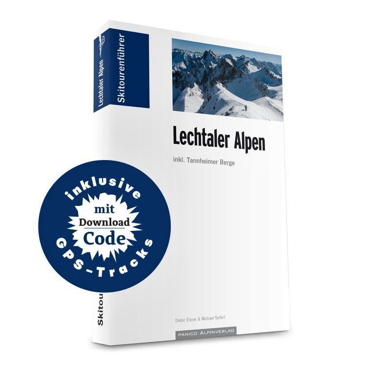Skitourenführer Lechtaler Alpen 9783956111075  Panico Verlag Panico Skitourenführer  Wintersport Tirol & Vorarlberg