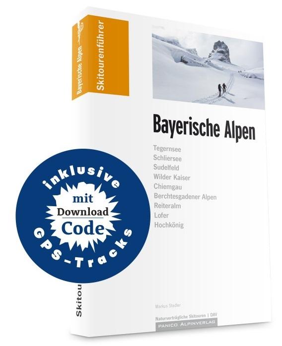 Skitourenführer Bayerische Alpen 9783956111105  Panico Verlag Panico Skitourenführer  Wintersport Beierse Alpen