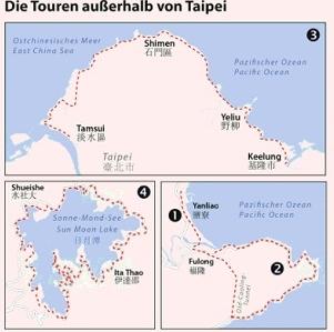 Das Radtourenbuch Taipeh und Umgebung | Detlev Kaden 9783981718607 Detlev Kaden IS.RADWEG   Fietsgidsen Taiwan