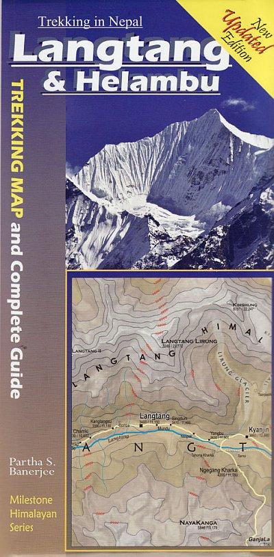 Langtang & Helambu: Trek Map & Complete Guide 9788190327053  Milestone Books   Wandelgidsen Nepal