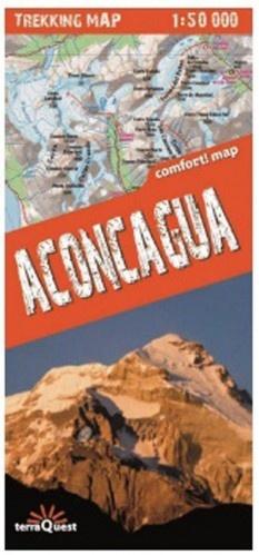 Aconcagua 1:50.000 9788361155379  TerraQuest   Wandelkaarten Chili, Argentinië, Patagonië