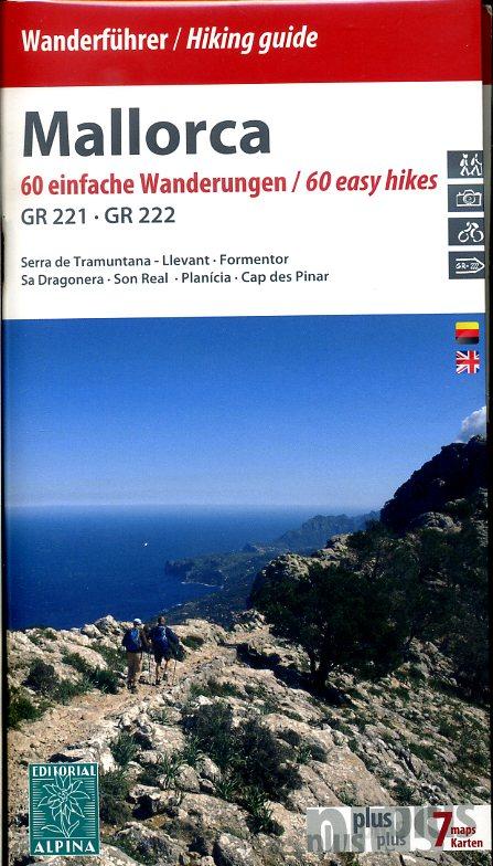 Wanderführer / Hiking Guide Mallorca 9788480905275  Editorial Alpina Wandelkaarten Spanje  Wandelgidsen Mallorca