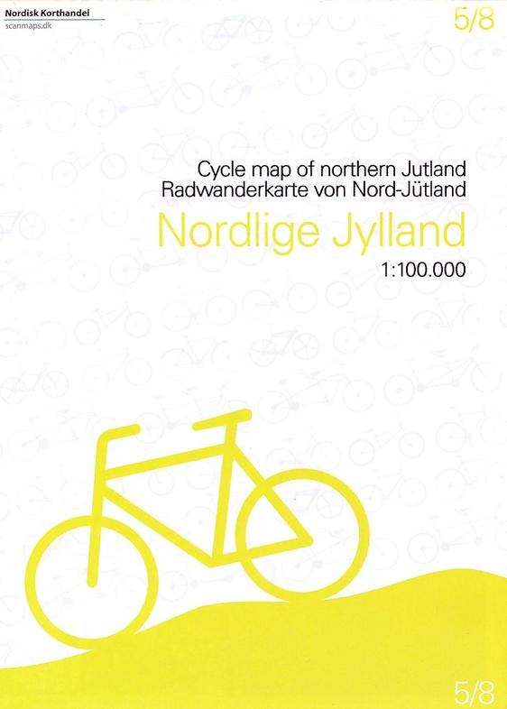 SM-5  Noord-Jutland fietskaart 1:100.000 9788779671096  Scanmaps fietskaarten Denemarken  Fietskaarten Denemarken