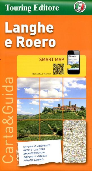 Langhe e Roero 1:175.000 9788836562459  TCI   Landkaarten en wegenkaarten, Wijnreisgidsen Ligurië, Piemonte, Lombardije