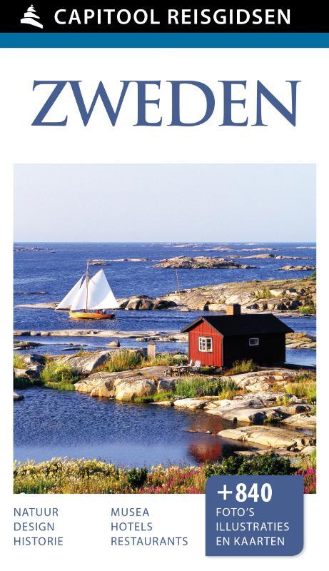 Capitool Zweden 9789000342389  Unieboek Capitool Reisgidsen  Reisgidsen Zweden