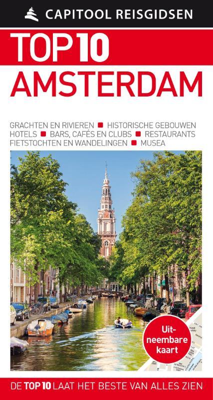 Capitool Top 10 Amsterdam 9789000356546  Unieboek Capitool Top 10  Reisgidsen Amsterdam
