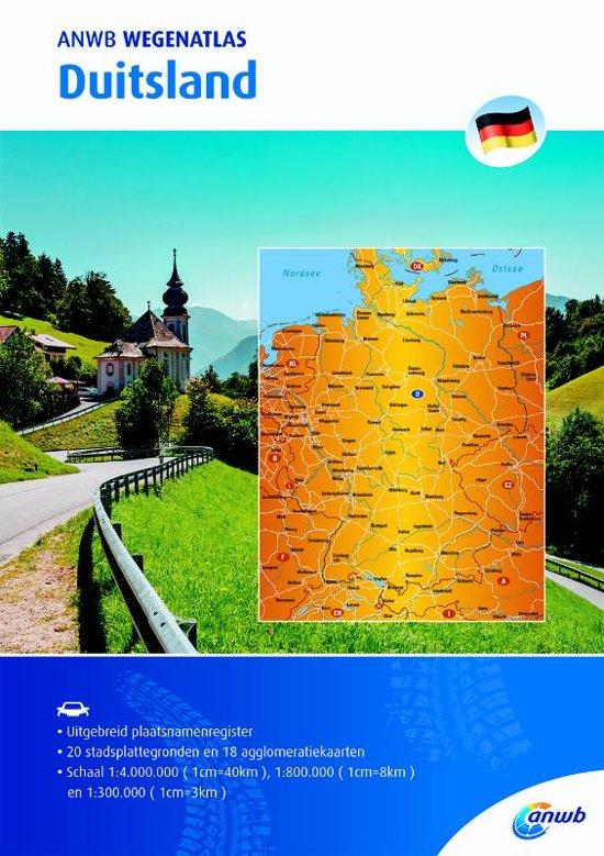 ANWB Wegenatlas Duitsland 1/300.000 9789018043063  ANWB ANWB Wegenatlassen  Wegenatlassen Duitsland