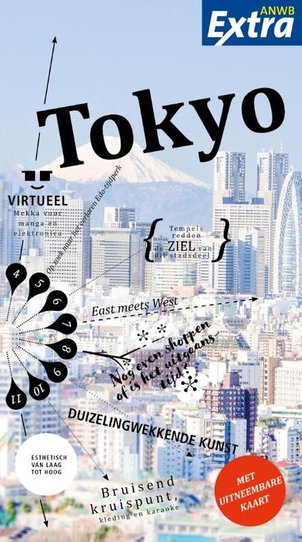 ANWB Extra reisgids Tokyo 9789018043285  ANWB ANWB Extra reisgidsjes  Reisgidsen Japan