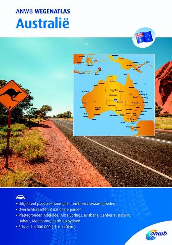 ANWB Wegenatlas Australië 9789018043827  ANWB ANWB Wegenatlassen  Wegenatlassen Australië