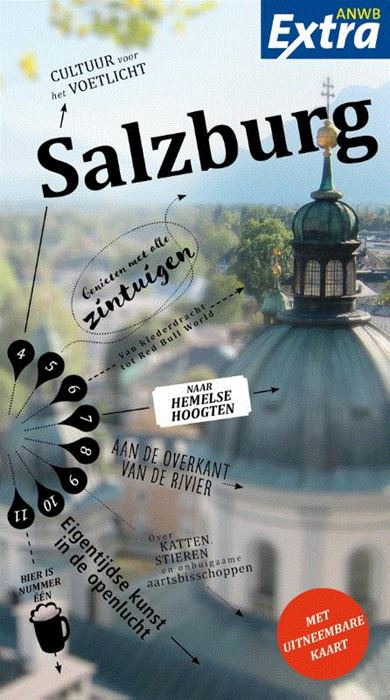 ANWB Extra reisgids Salzburg 9789018044350  ANWB ANWB Extra reisgidsjes  Reisgidsen Salzburg, Karinthië, Tauern, Stiermarken