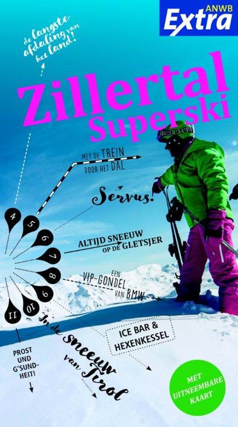 ANWB Extra reisgids Zillertal Arena wintersportgids 9789018044954  ANWB ANWB Extra reisgidsjes  Wintersport Oostenrijk