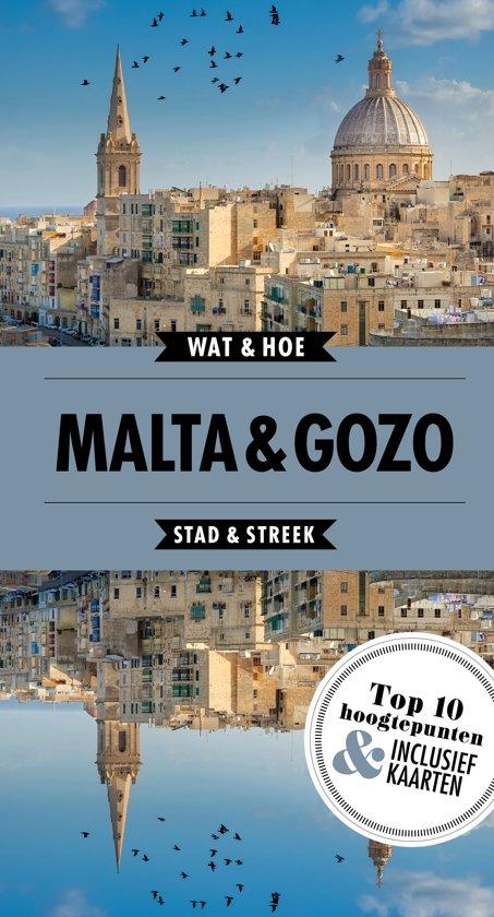 Wat & Hoe: Malta + Gozo 9789021568317  Kosmos Wat & Hoe  Reisgidsen Malta