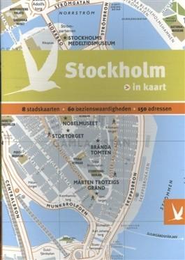 Stockholm 9789025756598  Gottmer Dominicus Stad-in-Kaart  Reisgidsen Zuid-Zweden
