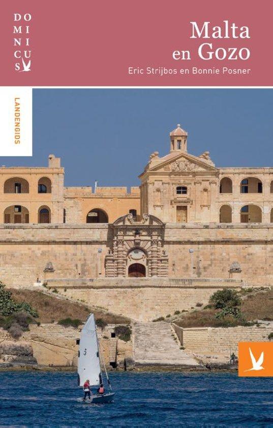 Dominicus reisgids Malta/Gozo 9789025764111  Gottmer Dominicus reisgidsen  Reisgidsen Malta