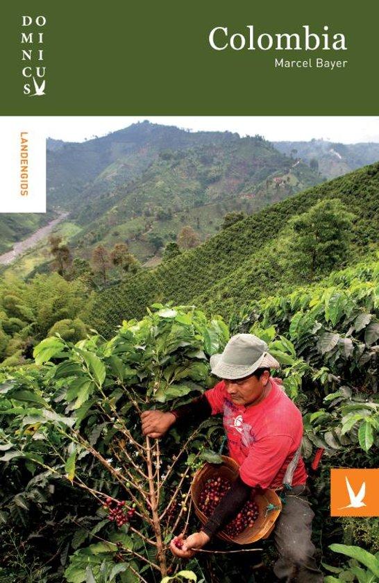 Dominicus reisgids Colombia 9789025764425 Marcel Bayer Gottmer Dominicus reisgidsen  Reisgidsen Colombia