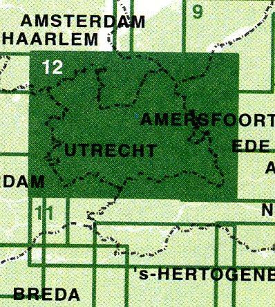 FFK-12  Utrechtse Heuvelrug 1:50.000 9789028724471  Falk Fietskaarten met Knooppunten  Fietskaarten Utrecht