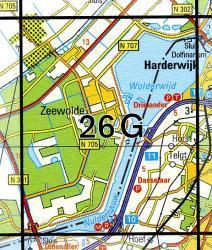 26G Zeewolde 1:25.000 9789035002661  Topografische Dienst / Kadaster Topografische Kaart  Wandelkaarten Flevoland en het IJsselmeer