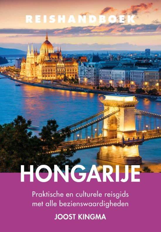 Elmar Reishandboek Hongarije 9789038925851 Joost Kingma Elmar Elmar Reishandboeken  Reisgidsen Hongarije