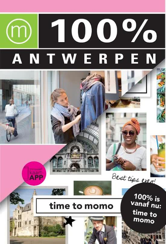Time to Momo Antwerpen (100%) 9789057678257  Mo Media Time to Momo  Reisgidsen Antwerpen