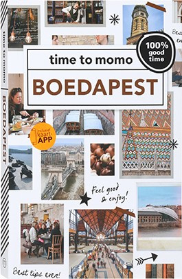 Time to Momo Boedapest (100%) 9789057678264  Mo Media Time to Momo  Reisgidsen Hongarije