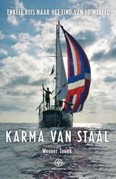 Karma van Staal | Werner Toonk 9789064106934 Werner Toonk Hollandia   Watersportboeken Zeeën en oceanen