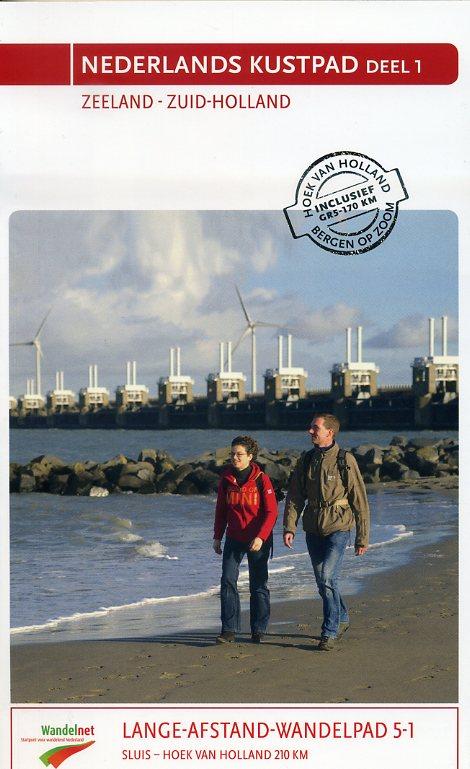GR-5   LAW 5-1 Nederlands kustpad (Deltapad) 9789071068904  Nivon LAW-Gidsen  Meerdaagse wandelroutes, Wandelgidsen Den Haag, Rotterdam en Zuid-Holland, Zeeland