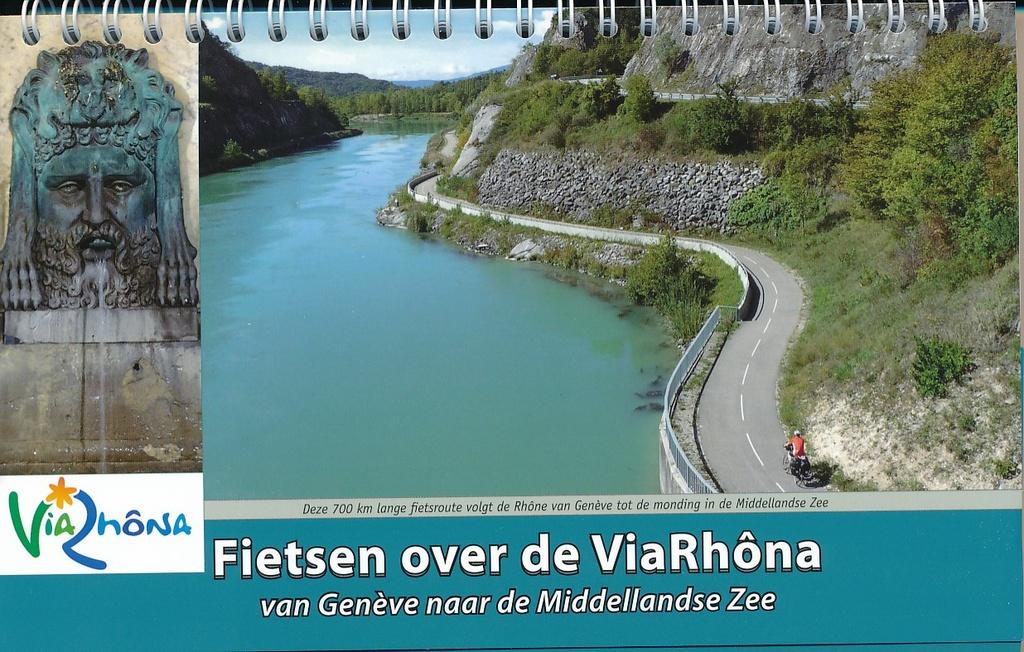 ViaRhôna | Fietsen langs de Rhone 9789077056370  ReCreatief Fietsen   Fietsgidsen, Meerdaagse fietsvakanties Rhône, Franse Alpen, Corsica