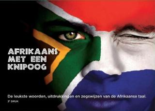Afrikaans met een knipoog 9789082718904  Peter Beekmans   Taalgidsen en Woordenboeken Zuid-Afrika