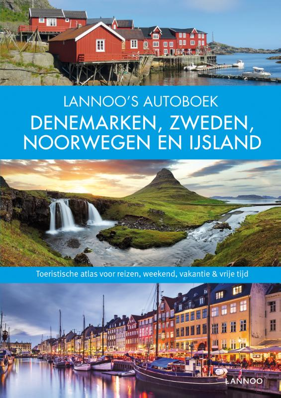 Lannoo's Grote Autoboek Scandinavië 9789401432337  Lannoo Lannoos Autoboeken  Reisgidsen Scandinavië & de Baltische Staten