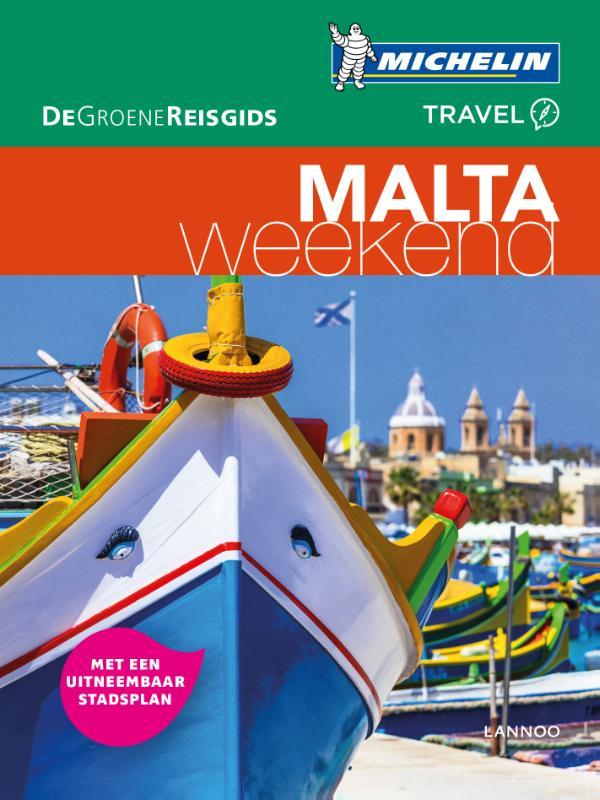 Michelin Groene Reisgids Weekend Malta 9789401439671  Michelin Michelin Groene Gids Weekend  Reisgidsen Malta