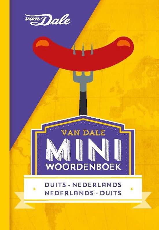 Duits-Nederlands v.v.   miniwoordenboek 9789460773846  Van Dale Miniwoordenboek  Taalgidsen en Woordenboeken Duitsland
