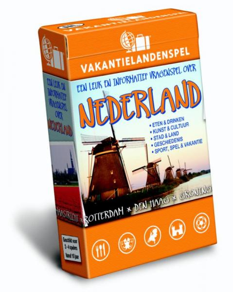 Vakantielandenspel Nederland 9789491263101  Scala   Overige artikelen Nederland