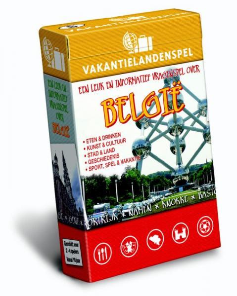 Vakantielandenspel België 9789491263149  Scala   Overige artikelen België & Luxemburg